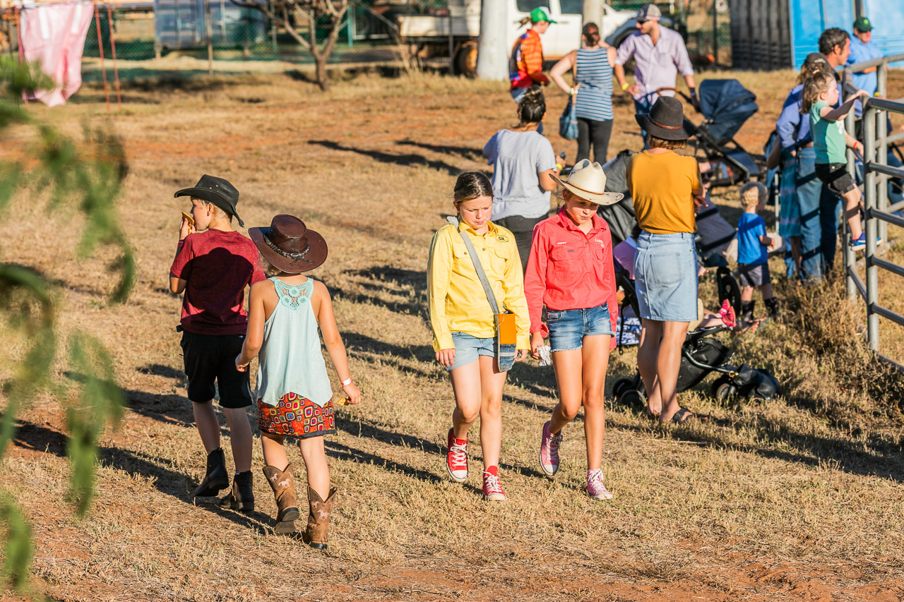 Kids at the Broome Rodeo