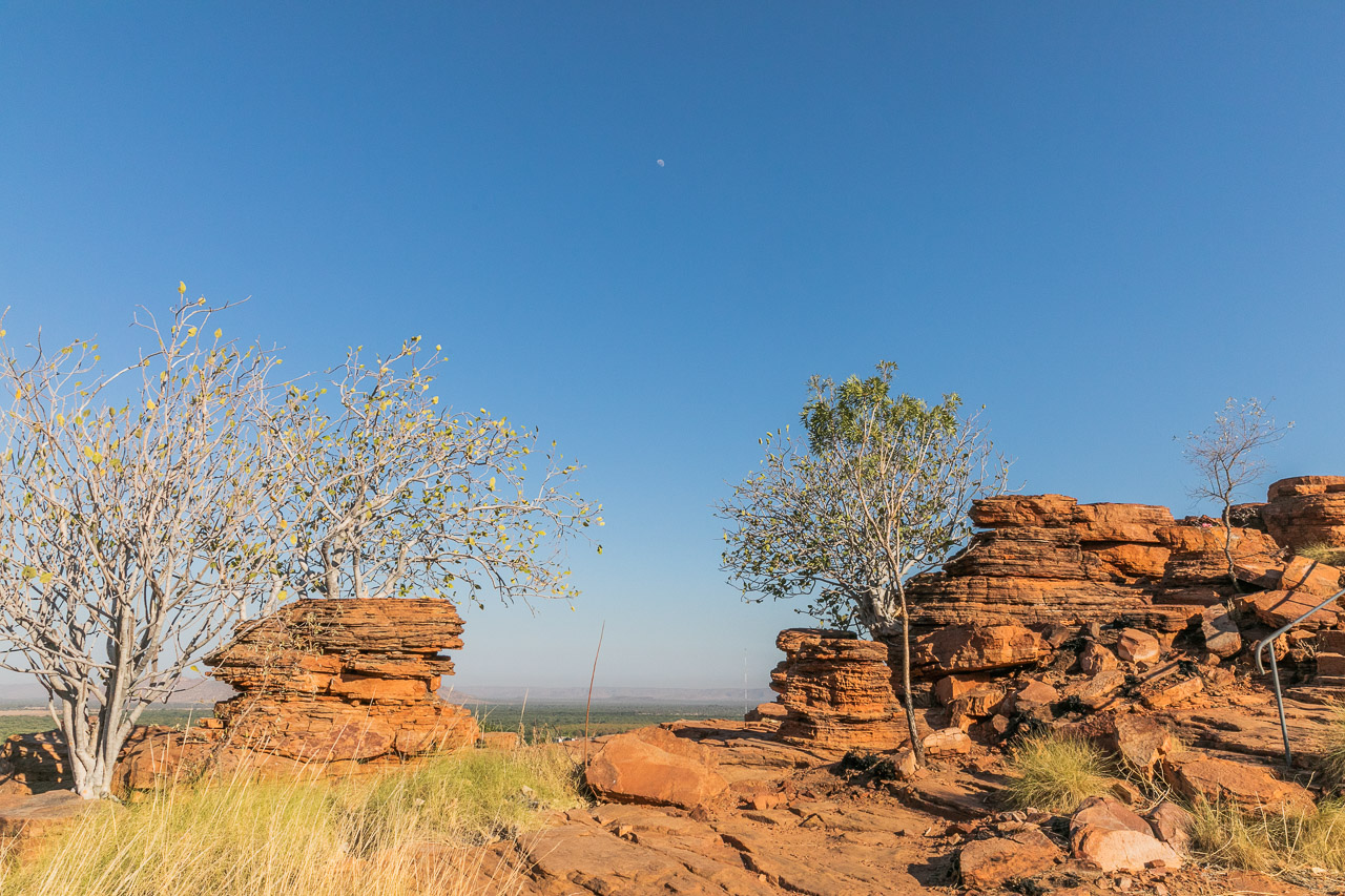 The rocks at Kellys Knob in Kununurra