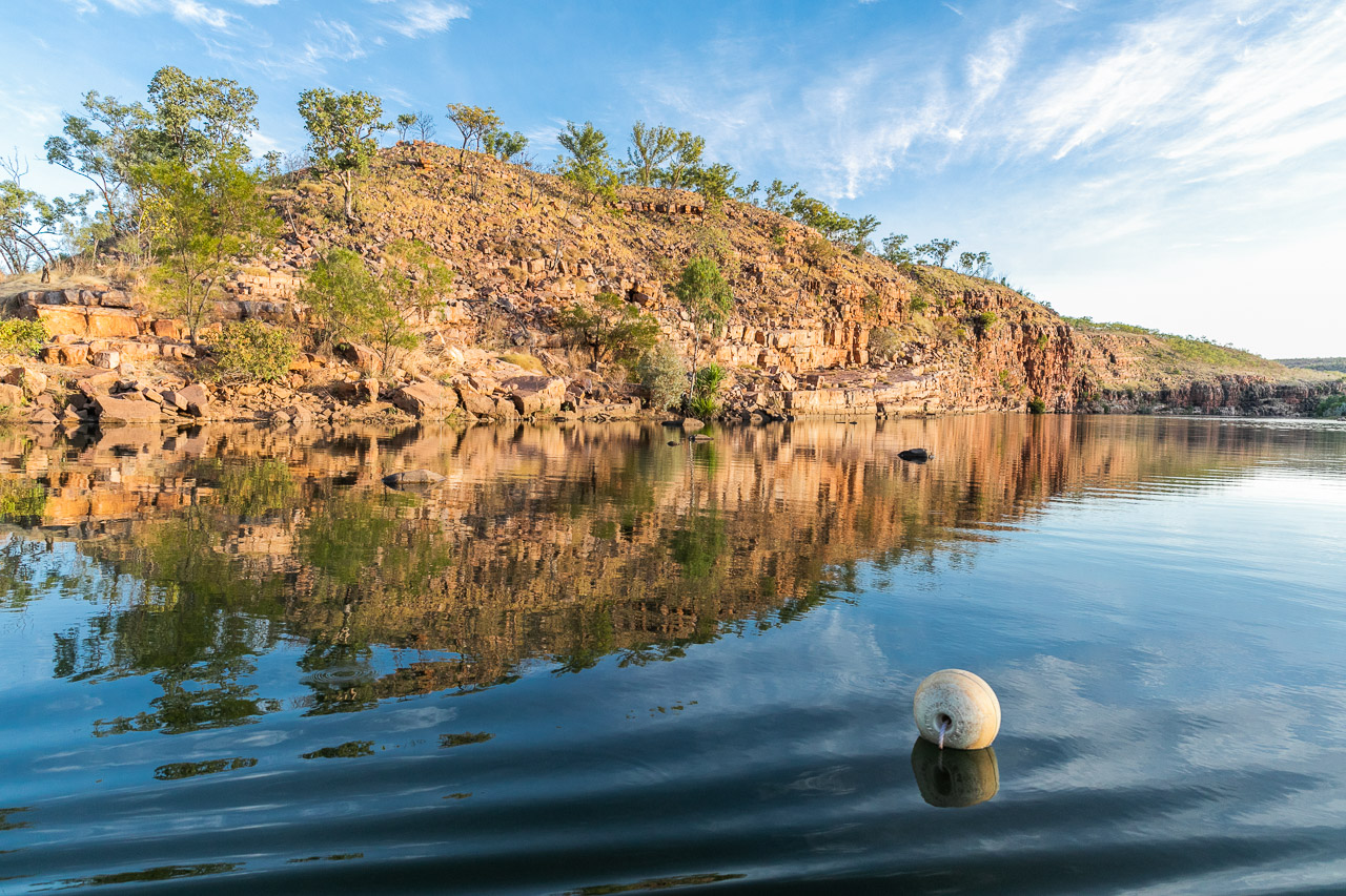 Reflections at Chamberlain Gorge, Western Australia