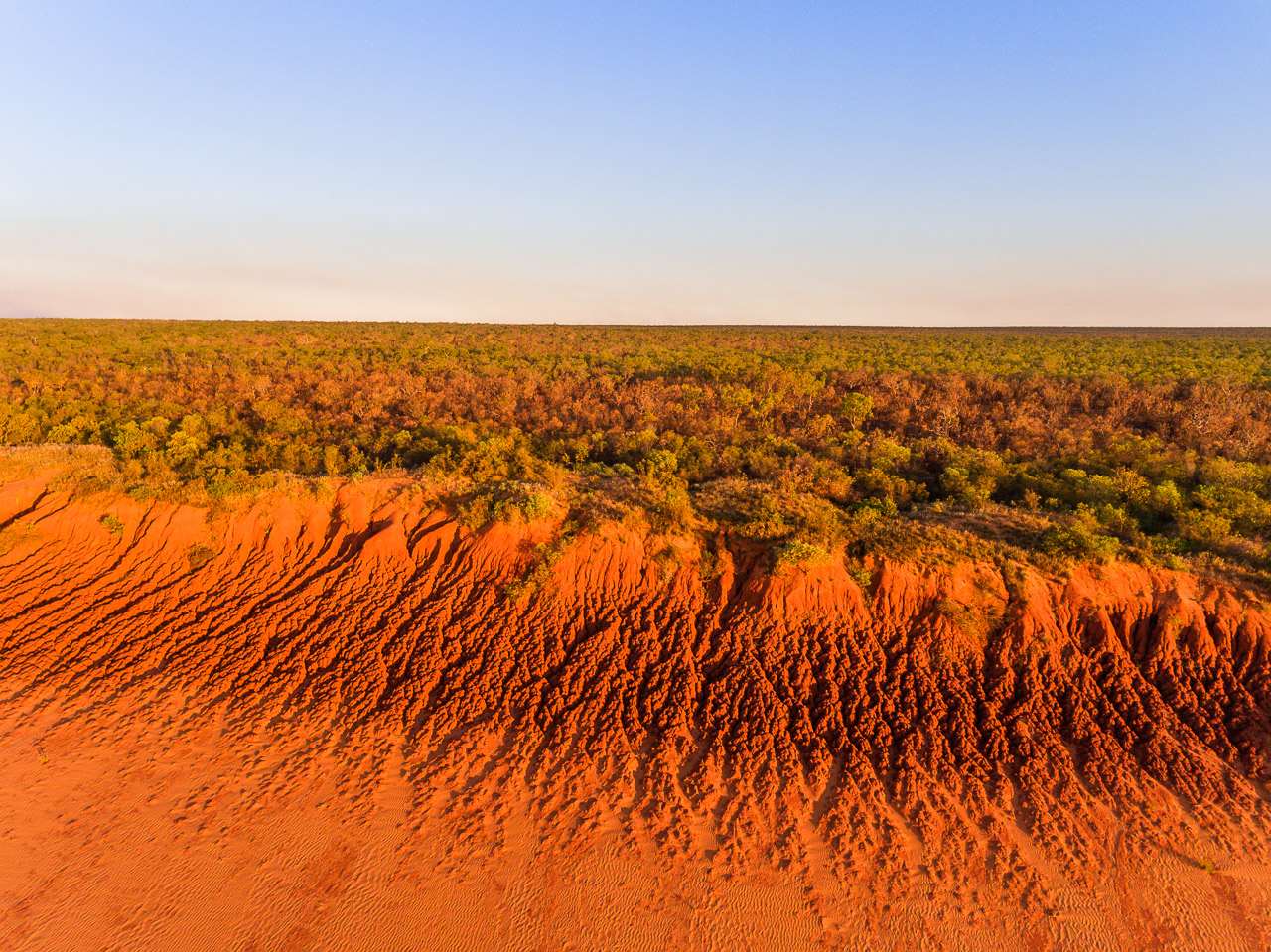 The colours of the Kimberley in Western Australia from a drone