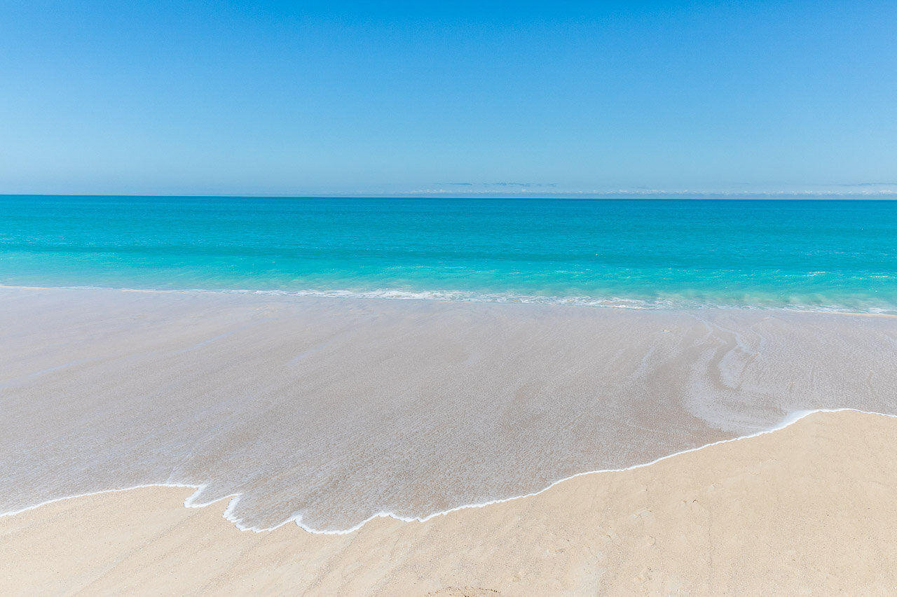 Cable Beach showcases one of Broome's colour palettes