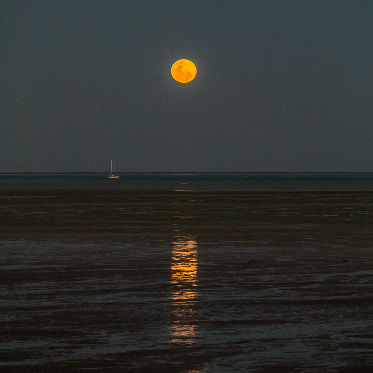 The Staircase to the Moon viewed from Town Beach in Broome