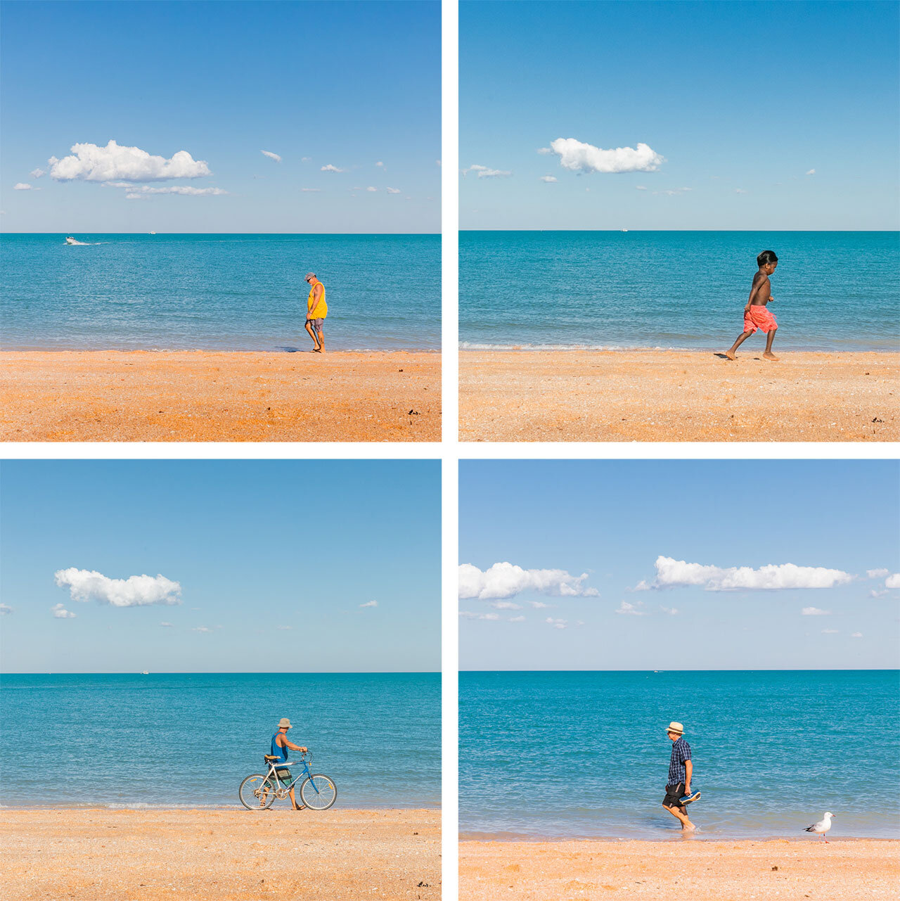 Watching the world go by at Town Beach in Broome, Western Australia