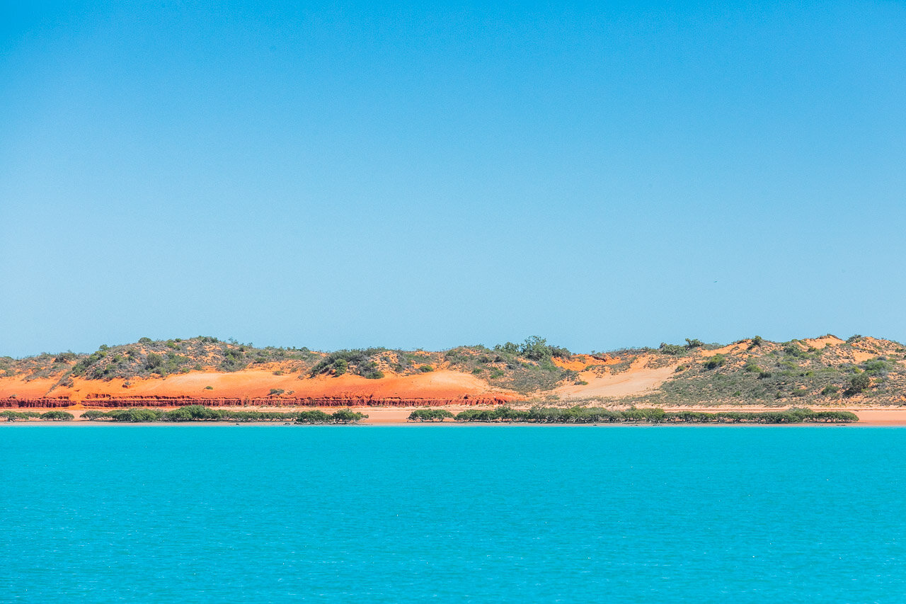 The colour palette of Broome's Roebuck Bay in Western Australia