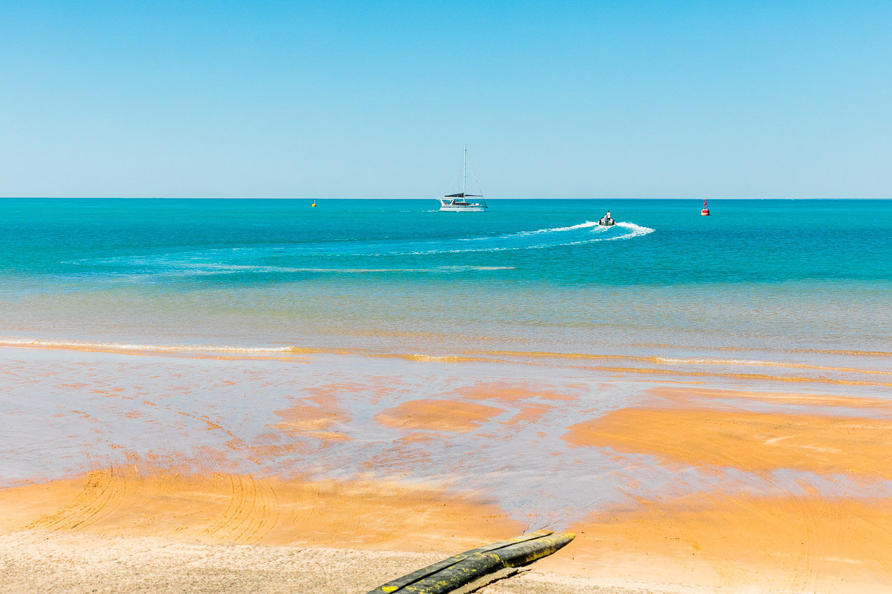 The colours of Entrance Point in Broome