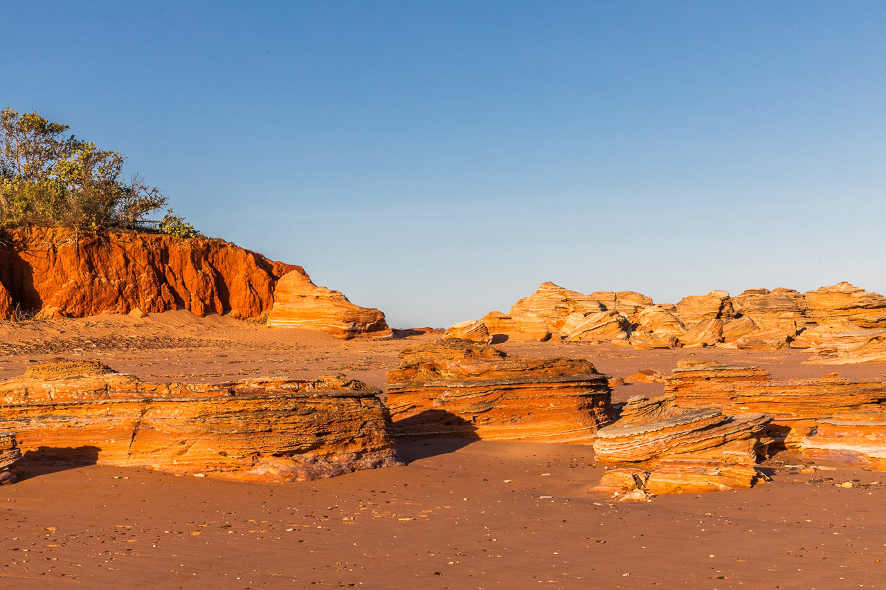 Crab Creek in Broome in late afternoon