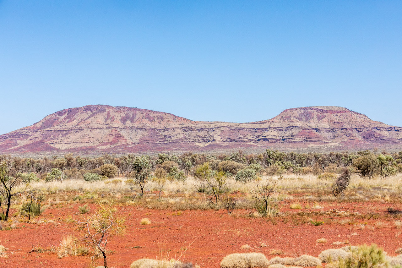 The drive through Karijini National Park provides spectacular scenery at every turn