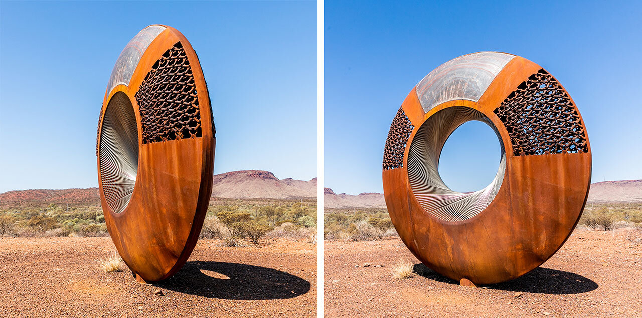 The Resilience Sculpture in Paraburdoo, Western Australia