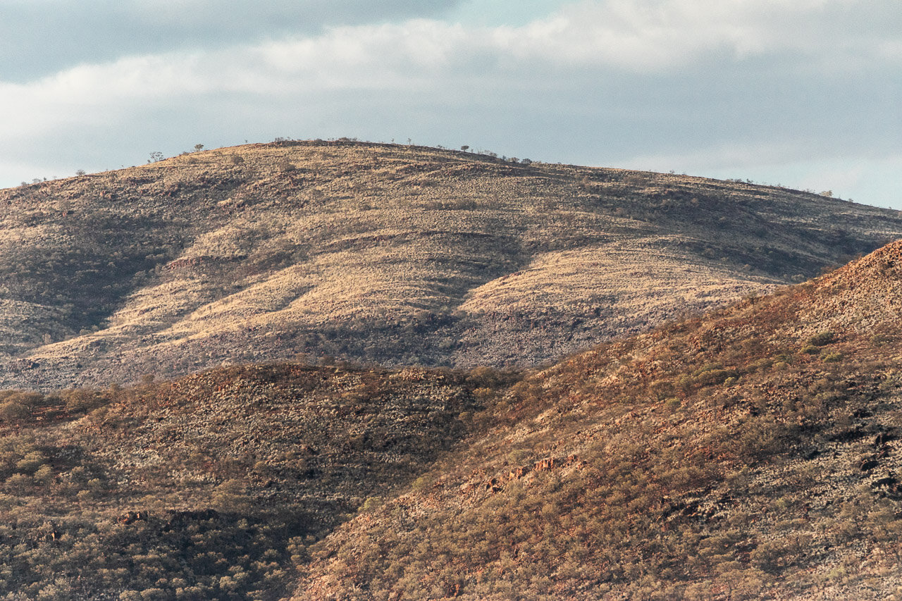 There's gold in them-there hills - Pilbara landscape near Paraburdoo