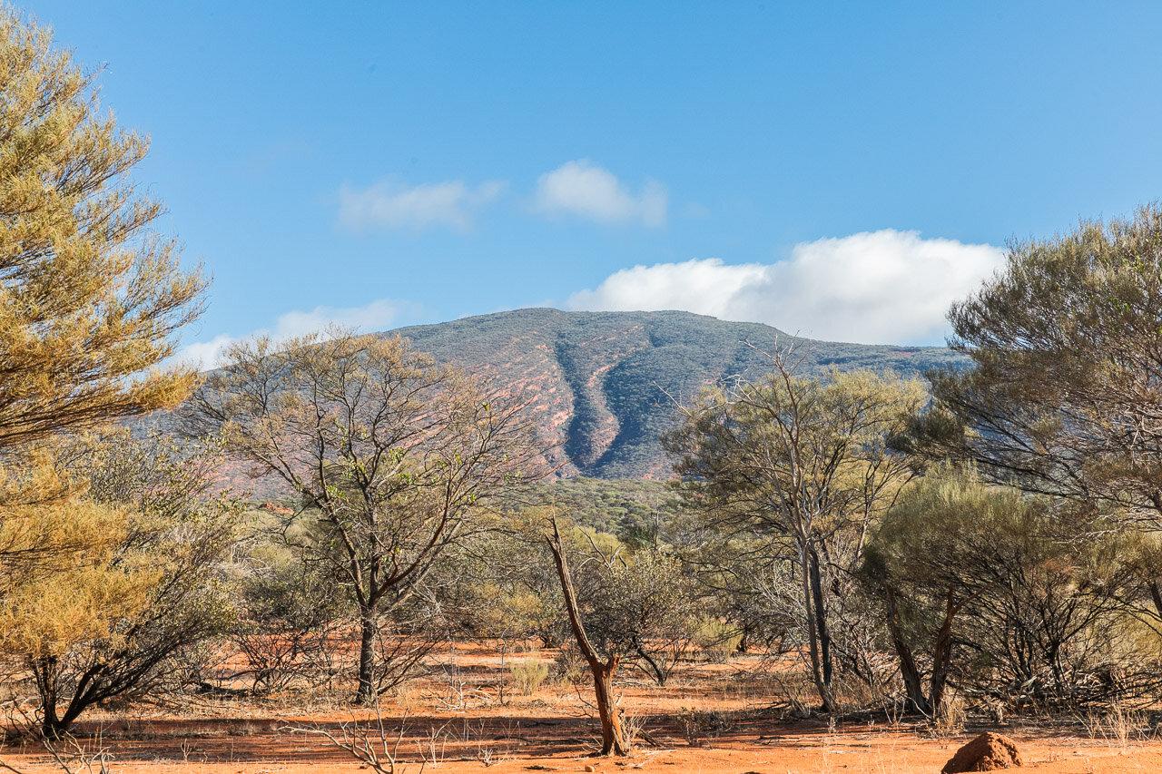 Mount Augustus in Western Australia