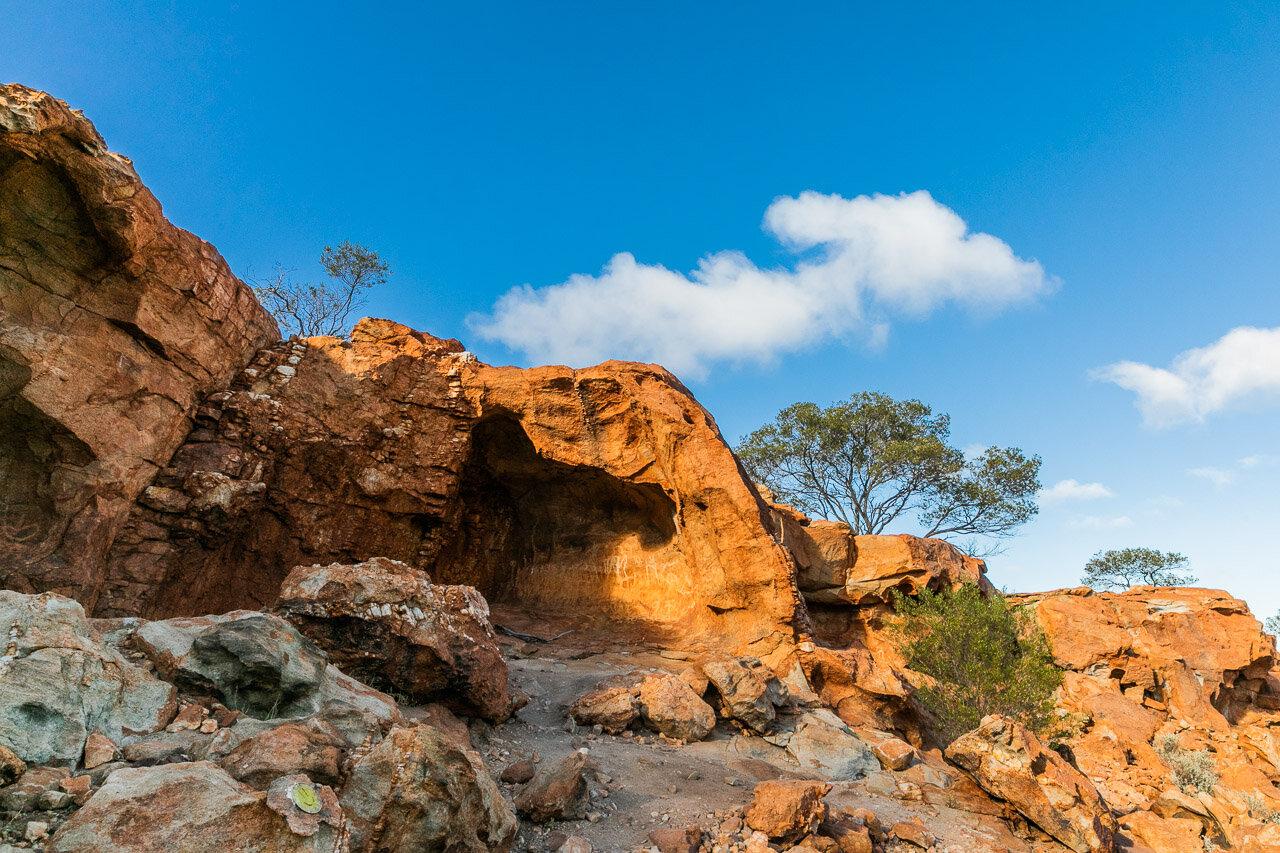 Rock formations around Mount Augustus, WA