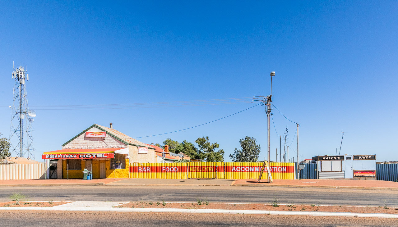 The Meekatharra Hotel and Ralph's Diner, for all your hospitality requirements.