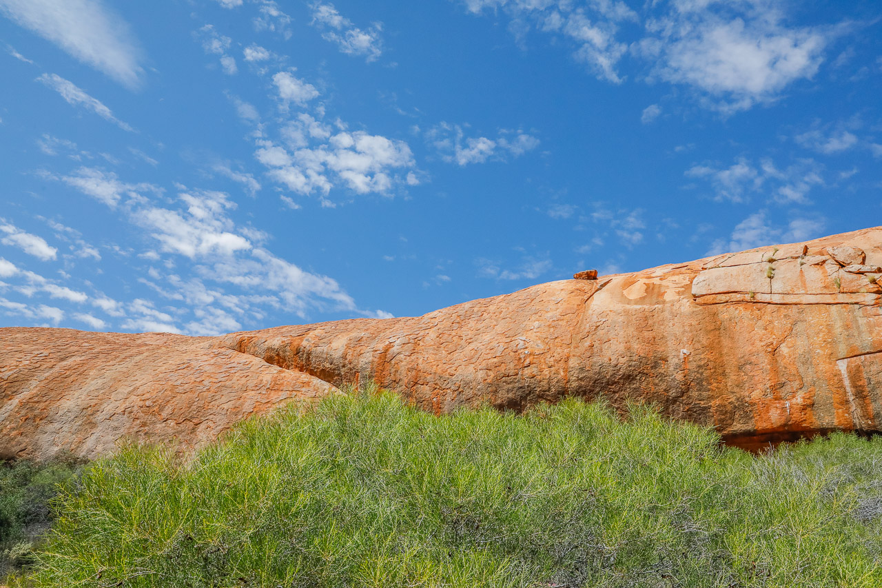 Walga Rock is located 48km west of Cue in the Goldfields of WA