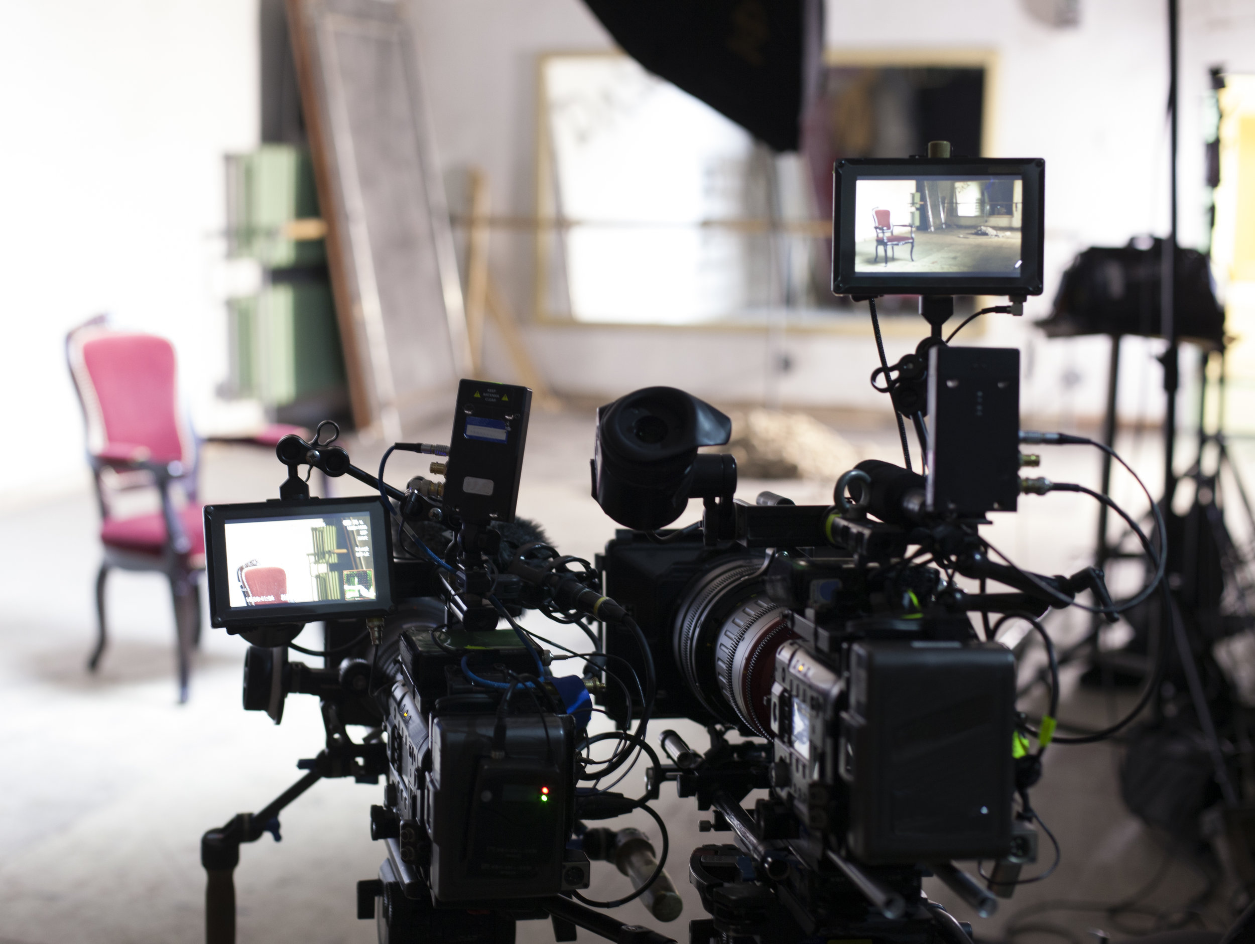 Camera & Location Audio Services -