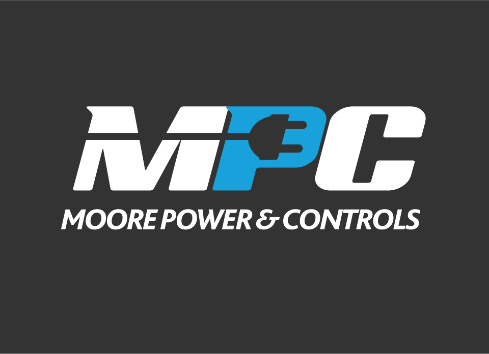 Logo design Moore Power & Controls