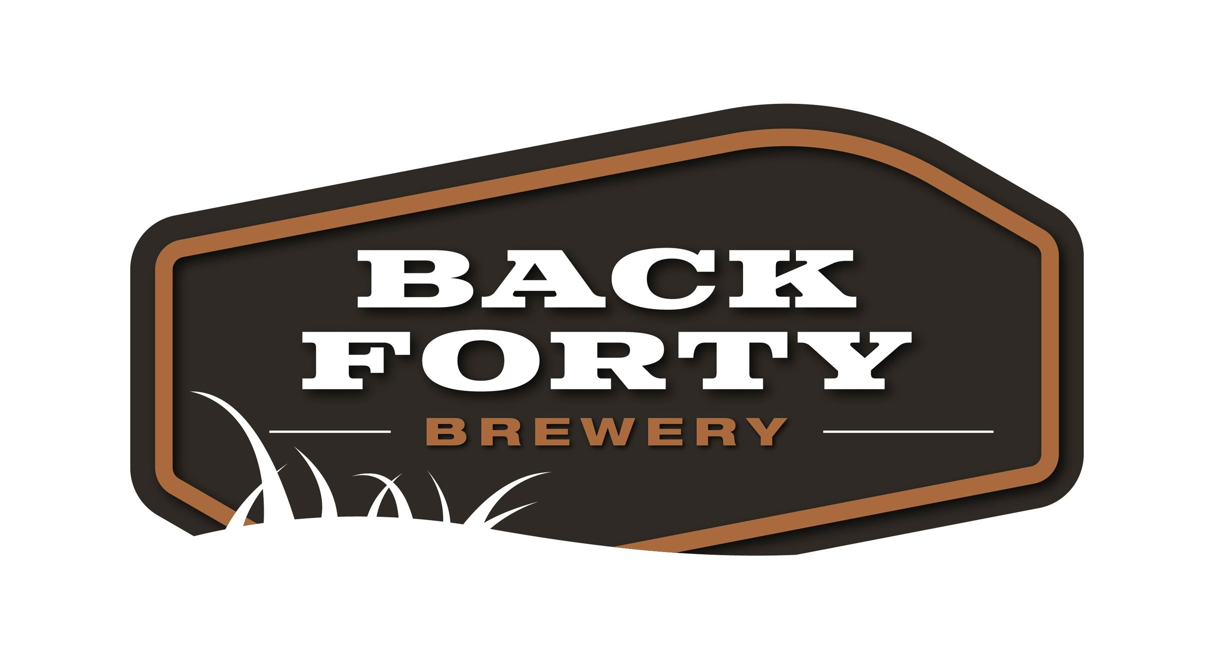 Back Forty Brewery logo design