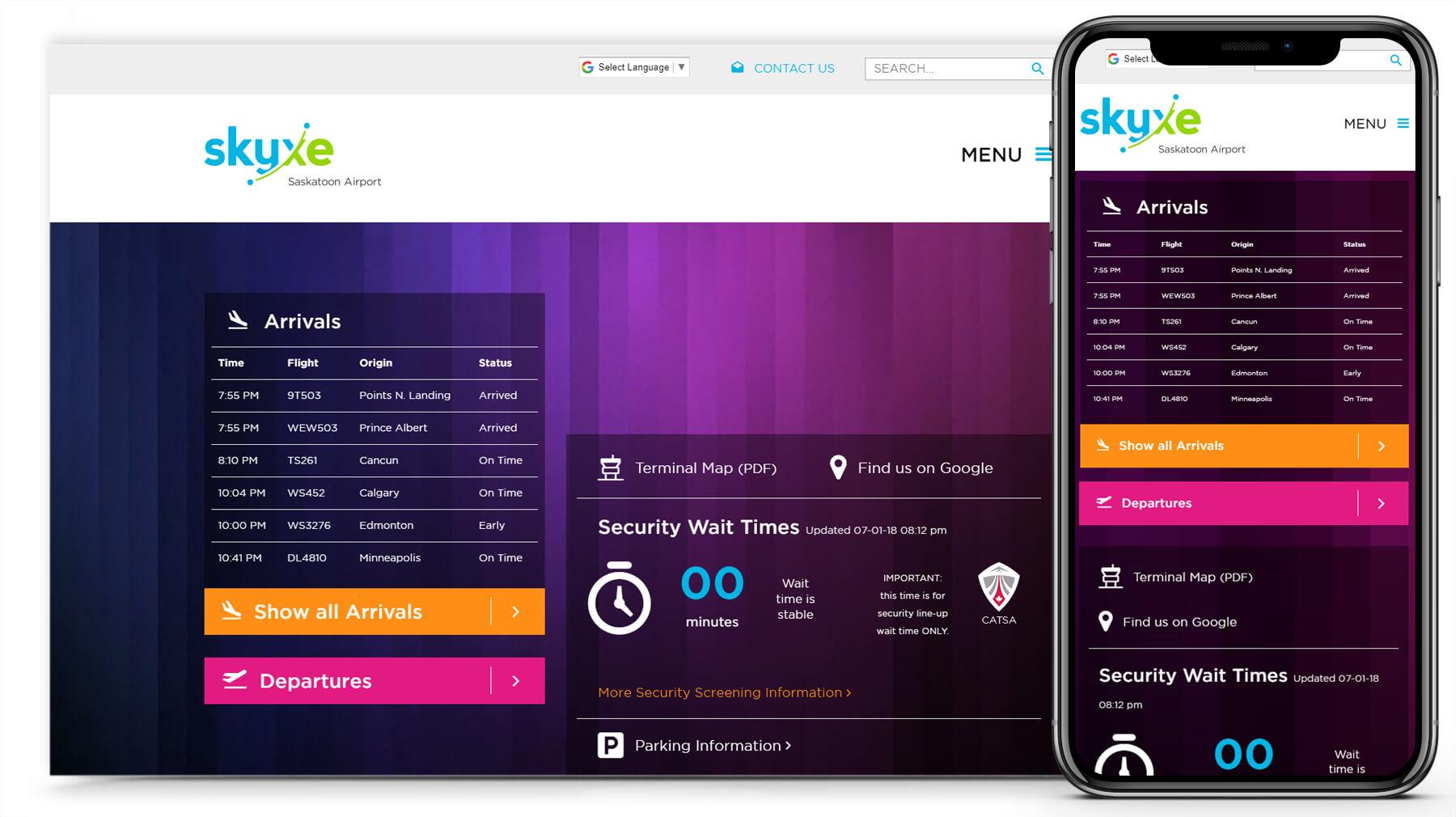 Skyxe Web Design / Development