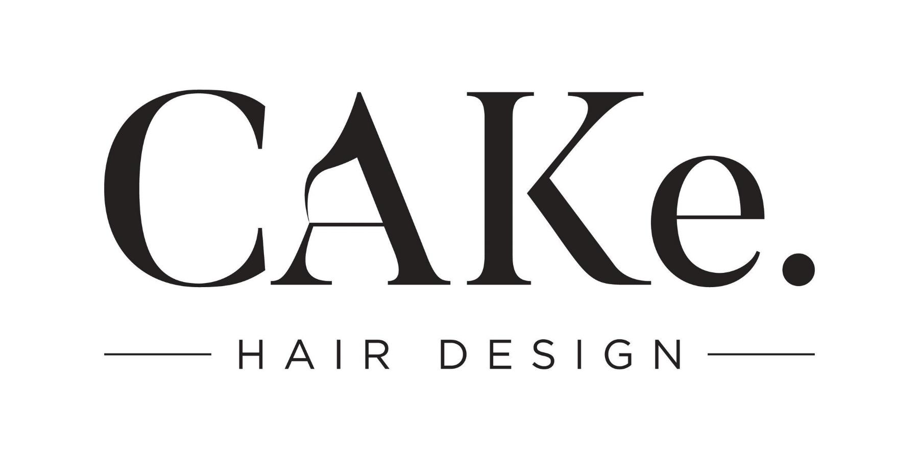 Cake Hair Design - Logo Design for Salon