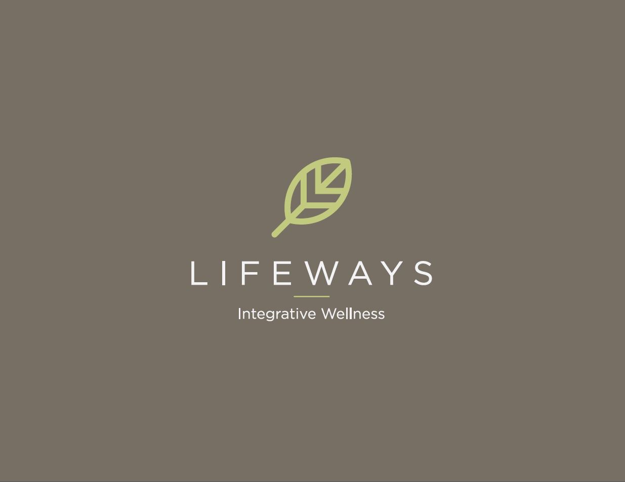 Logo for natural health company