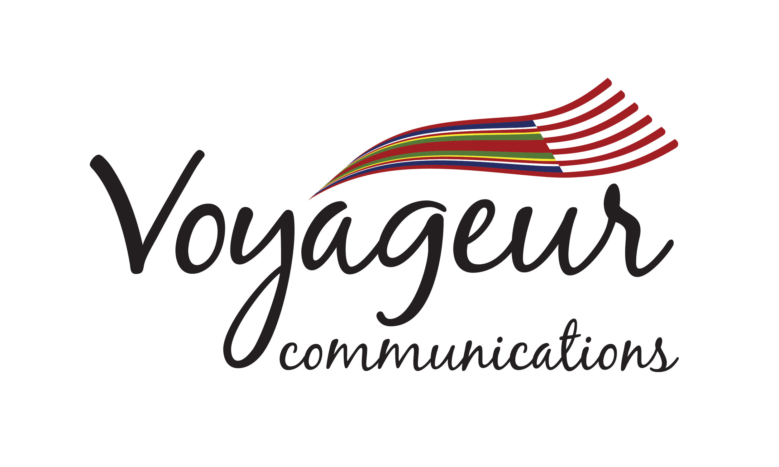 Voyageur Communications Logo