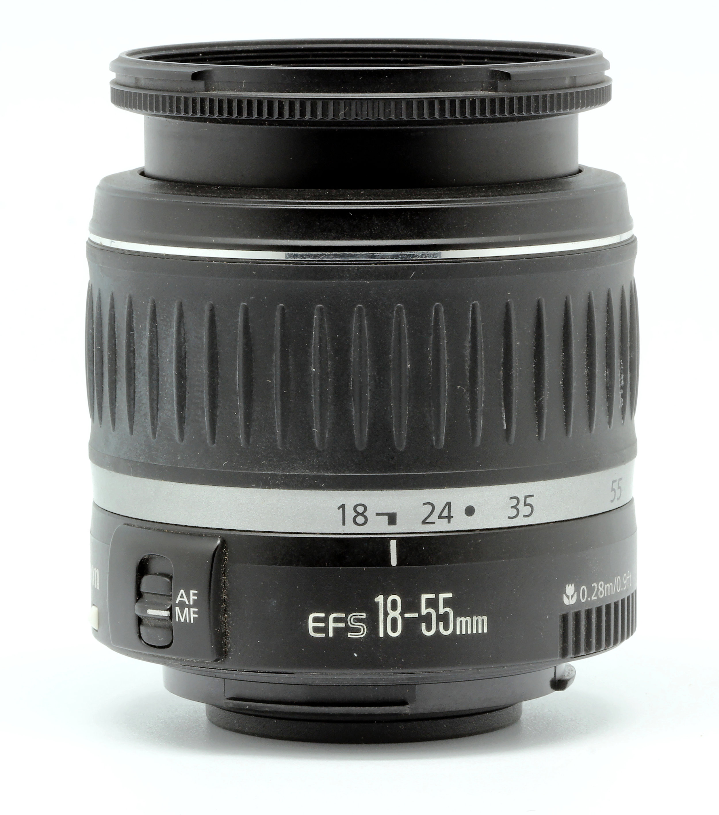 This is the kit lens that traditionally comes with the T3i, and through all the trials i've thrown at it, it has always performed well. Works great in almost every situation.  Purchase it at:  https://amzn.to/2NPi8xA