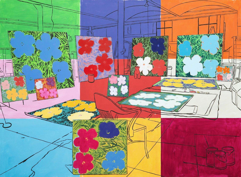 Warhol's Studio (New York, 1964) 2017