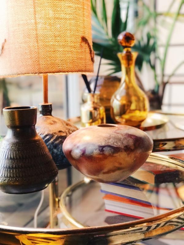 op shop lamp, vases table.jpg
