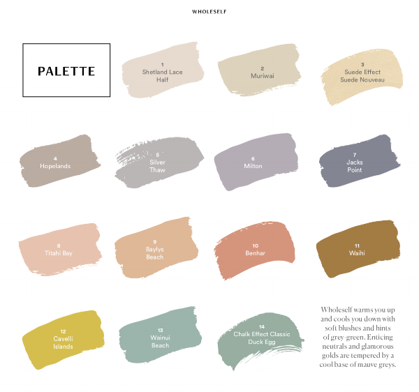 Dulux wholesale palette