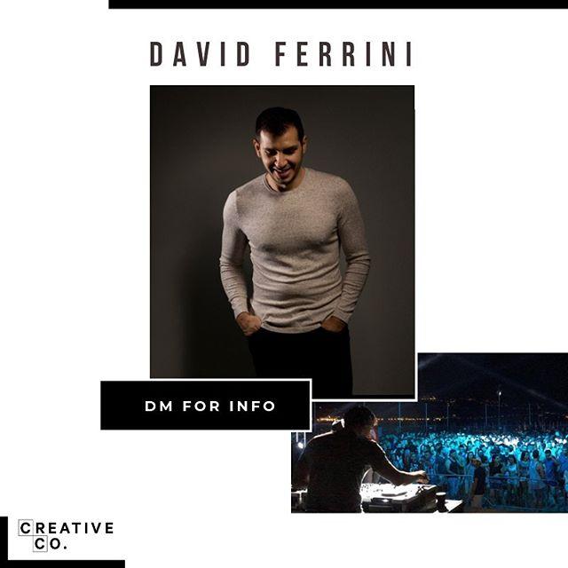 Best London Club DJ - DJ David Ferrini — CreativeCo
