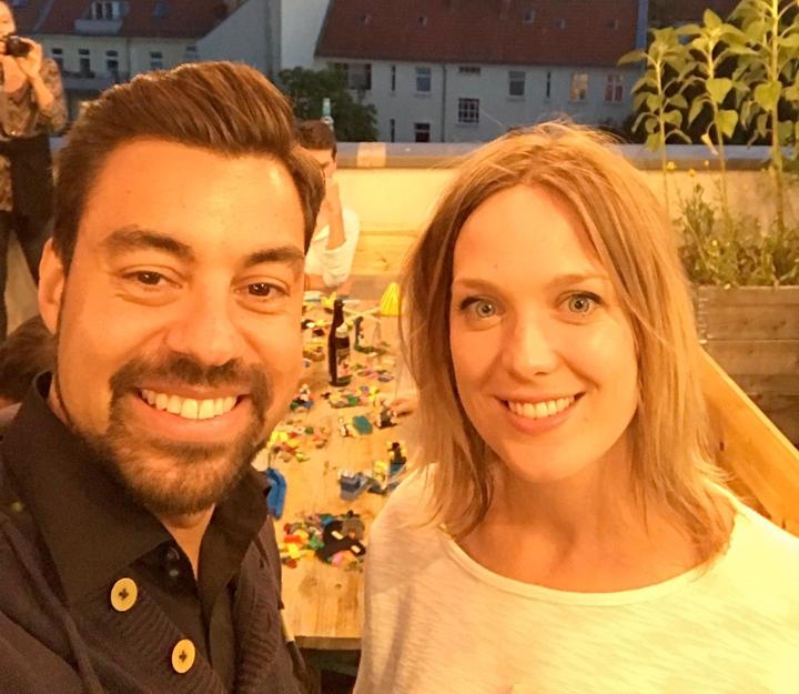 Speaker: Julian Kea und Coralie Moore - Certified facilitators of LEGO® SERIOUS PLAY®