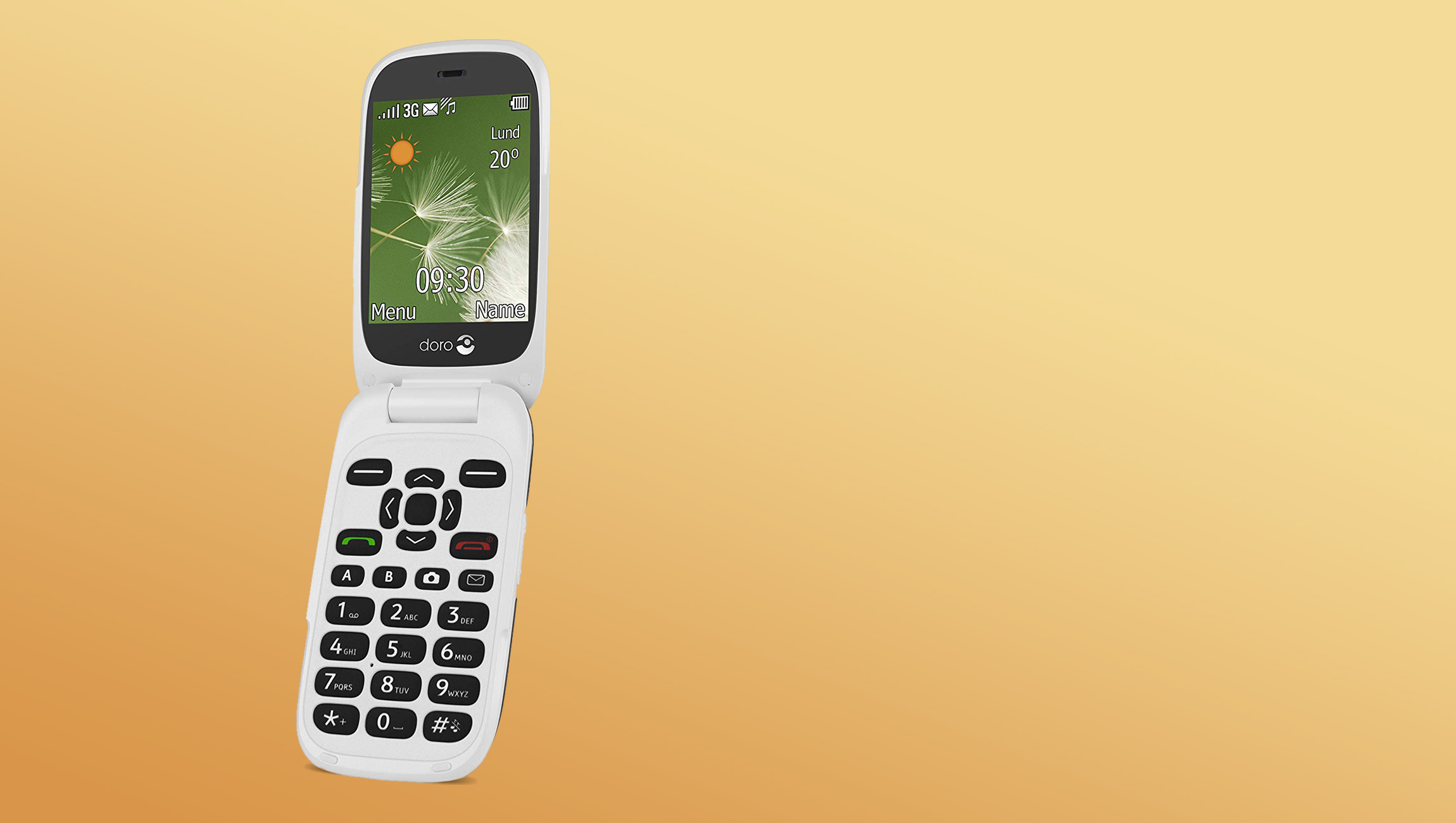 Doro PhoneEasy 6520 - Feel more secure with Assistance button