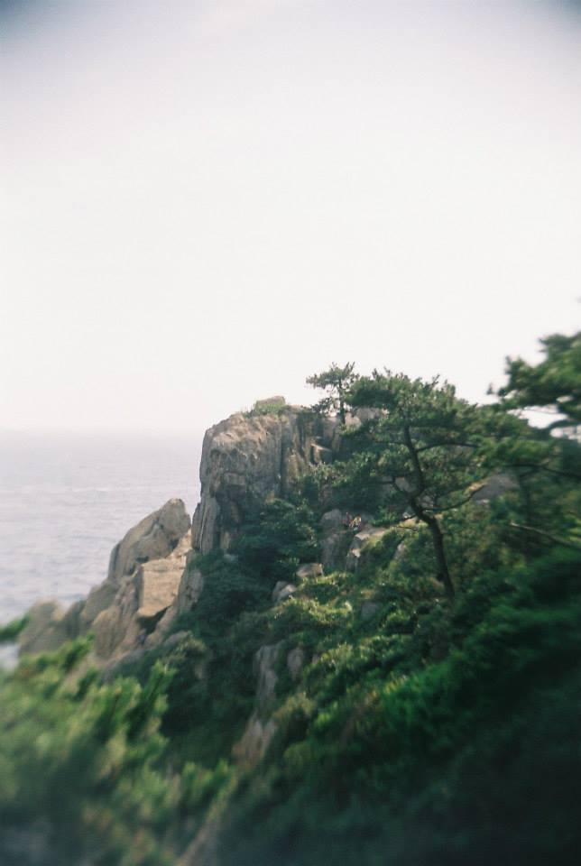 Hiking along the coast, Busan