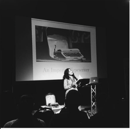 Reading at Indian Summer Festival in Leicester.