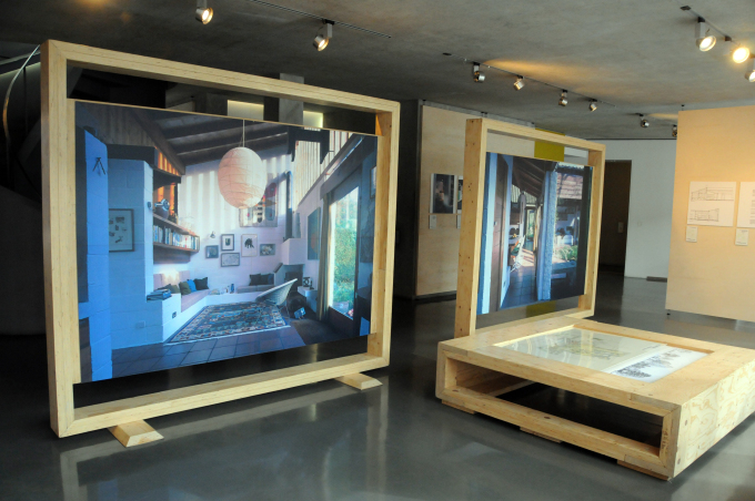 Turn End exhibition at the Southwark studios of architects Allies and Morrison