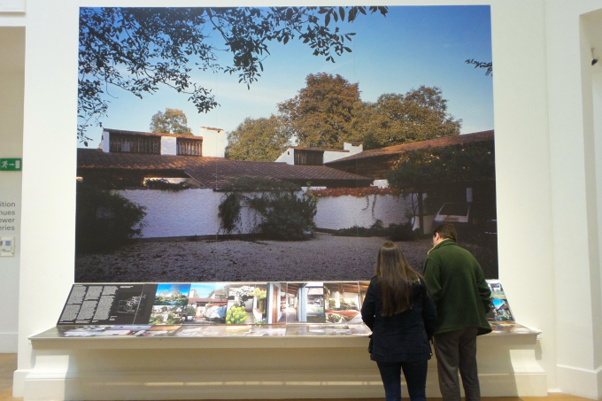 Images of houses by Peter Aldington at RSA's Annual Exhibition