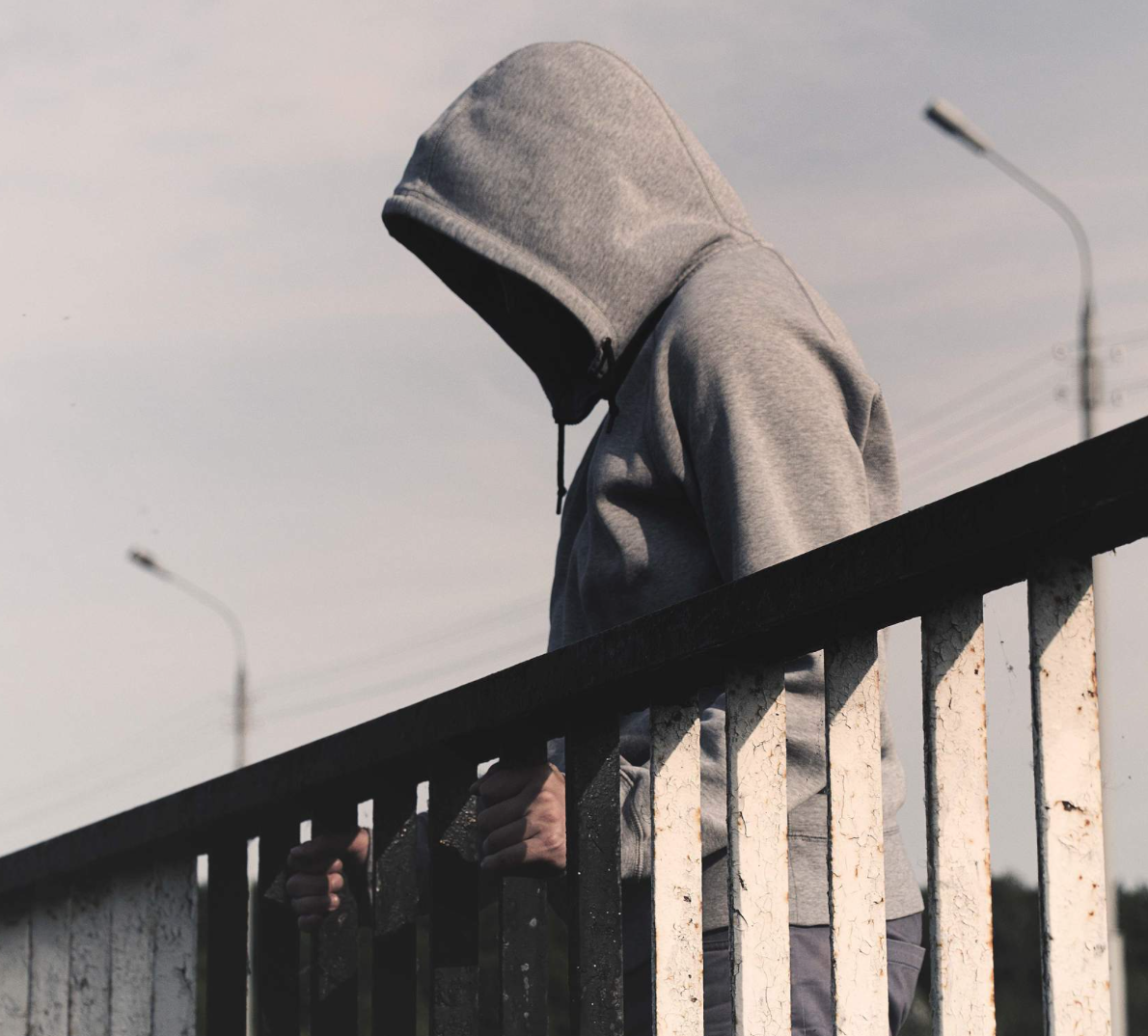 I had a drug problem growing up...with my partner taking her life, it just got worse -
