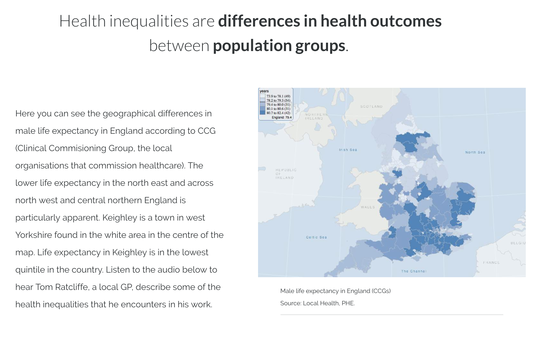 Health Inequalities in Primary Care - This module offers an introduction to health inequalities, exploring the difference between equality and equity, the inverse care law, social determinants of health, and primary care's place in tackling health inequalities.