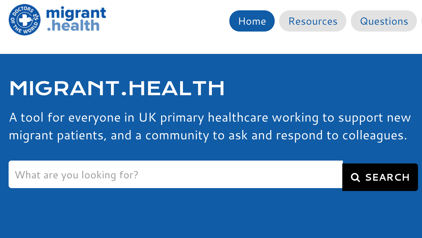 Loads more detail and information on migrant health