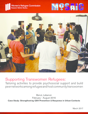 Interventions for Strengthening GBV Prevention and Response for Urban Refugees