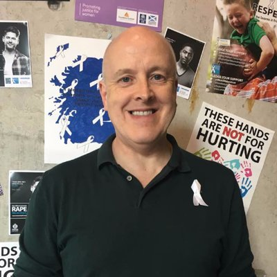 Davey Thompson   Campaign Director, White Ribbon Scotland