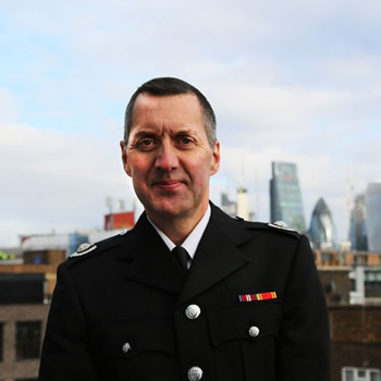 Gary Squires   Group Manager, London Fire Brigade; Borough Commander, Islington Fire