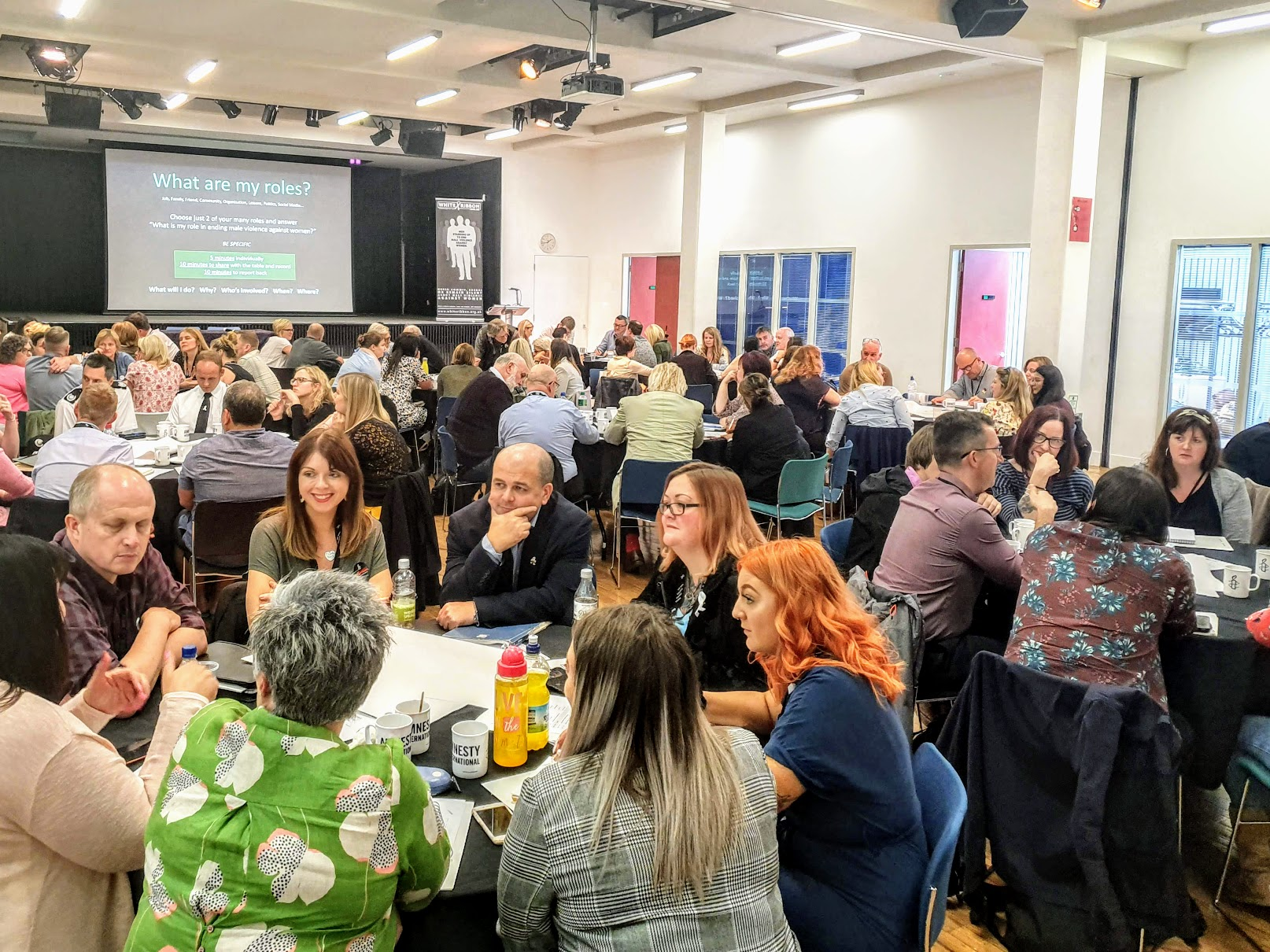 Delegates attending #WR19 Conference at Amnesty International Human Rights Action Centre, London