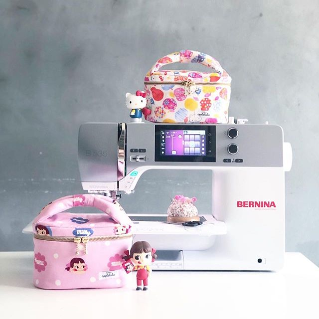 First collaboration with Applelulu Crafts! Join us at BERNINA Concept Store on the 19th July and get to experience and hands-on BERNINA sewing machine and at the same time, learn to make your own cute cosmetic pouch. Full details on our website, link in bio!