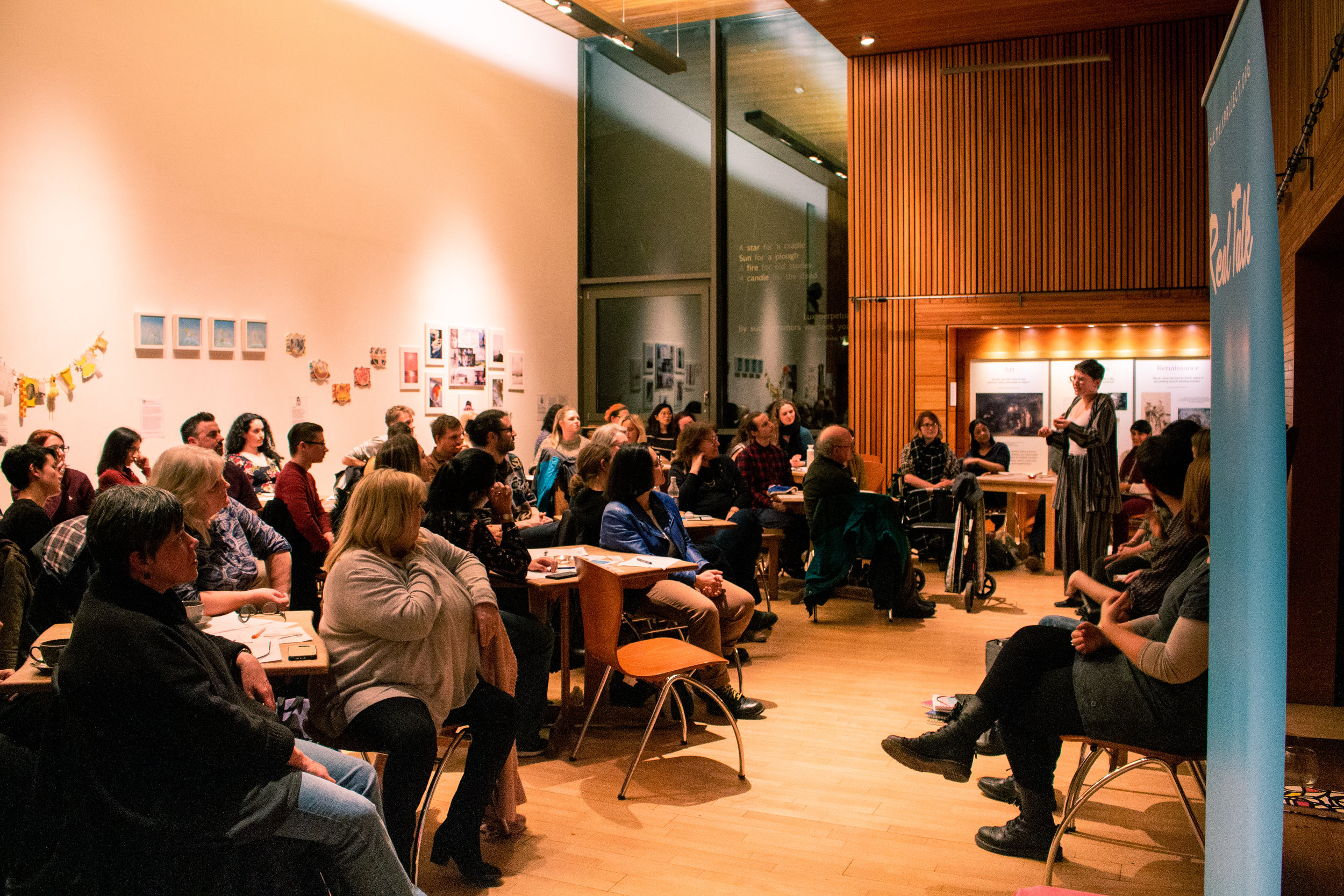 Real Talk Storytelling for Wellbeing event at the Scottish Storytelling Centre - 28th February 2019.