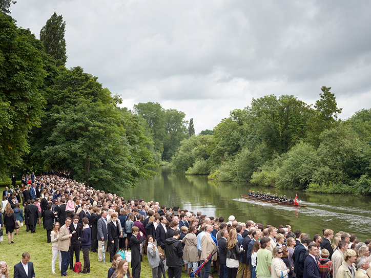 Simon Roberts: Annual Eton College Procession of Boats, River Thames, Windsor, Berkshire, 17 June 2016, Merrie Albion – Landscape Studies of a Small Island