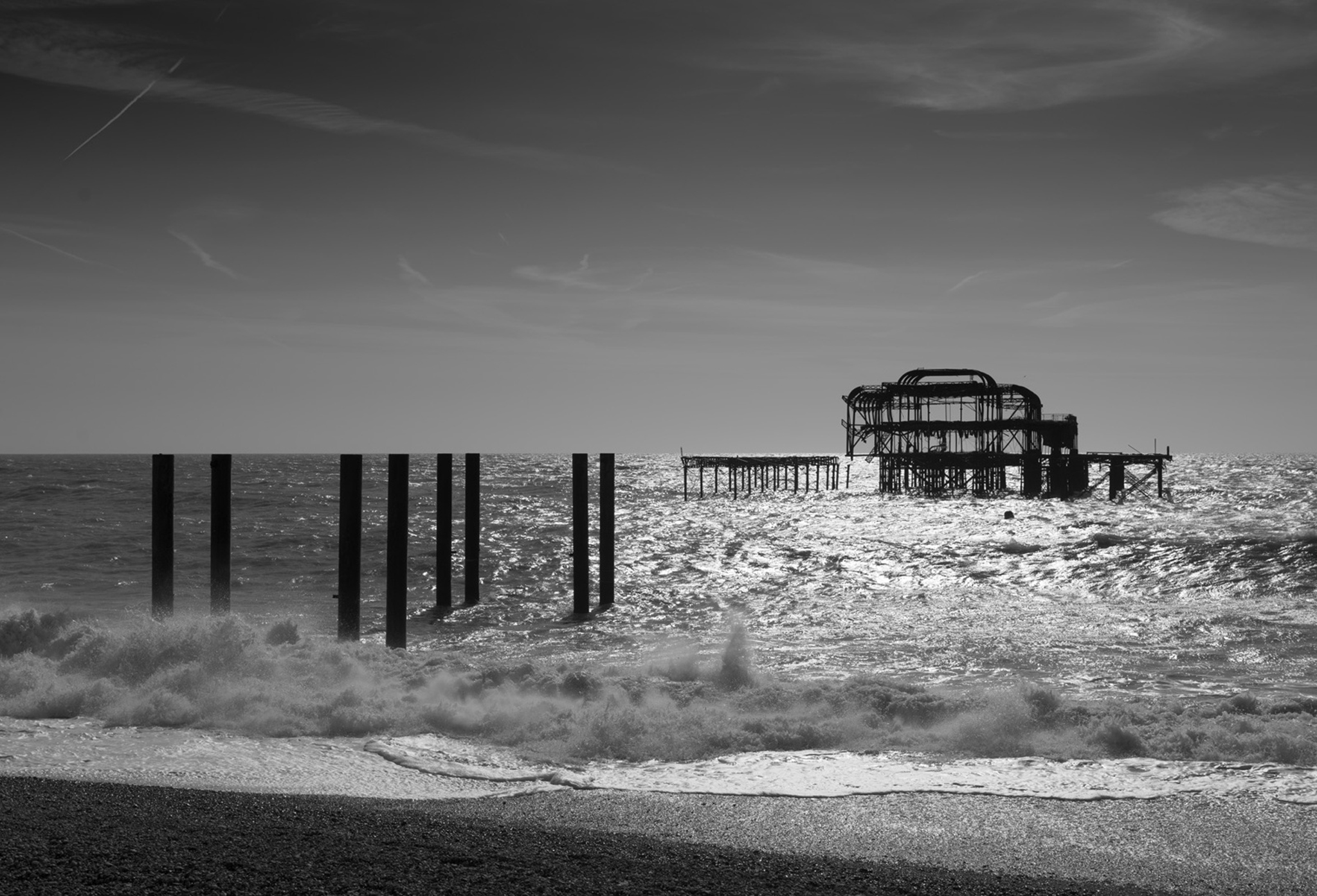 Alex_Bamford_Photography_Brighton_Horizon_Bw