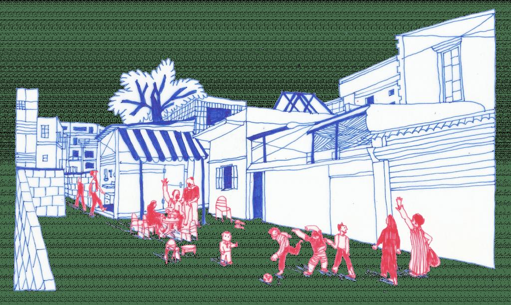 Em Hassan's courtyard (1982)