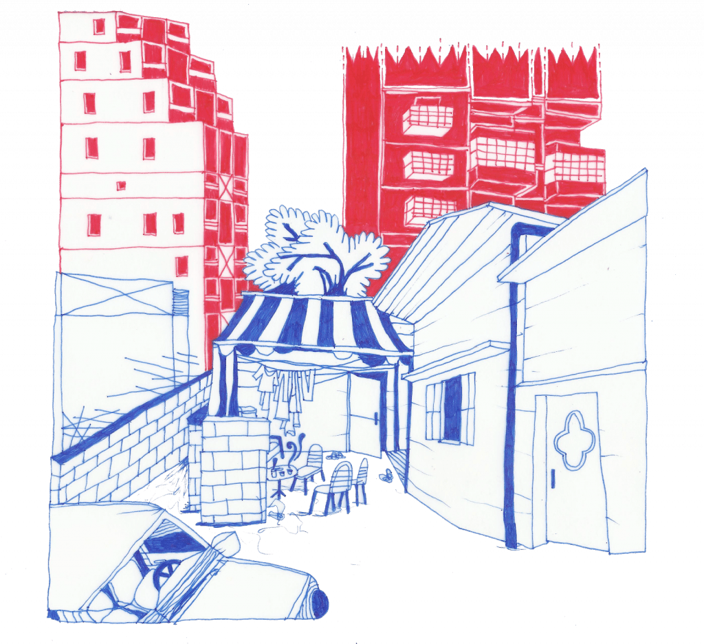 Em Hassan's courtyard (2019)