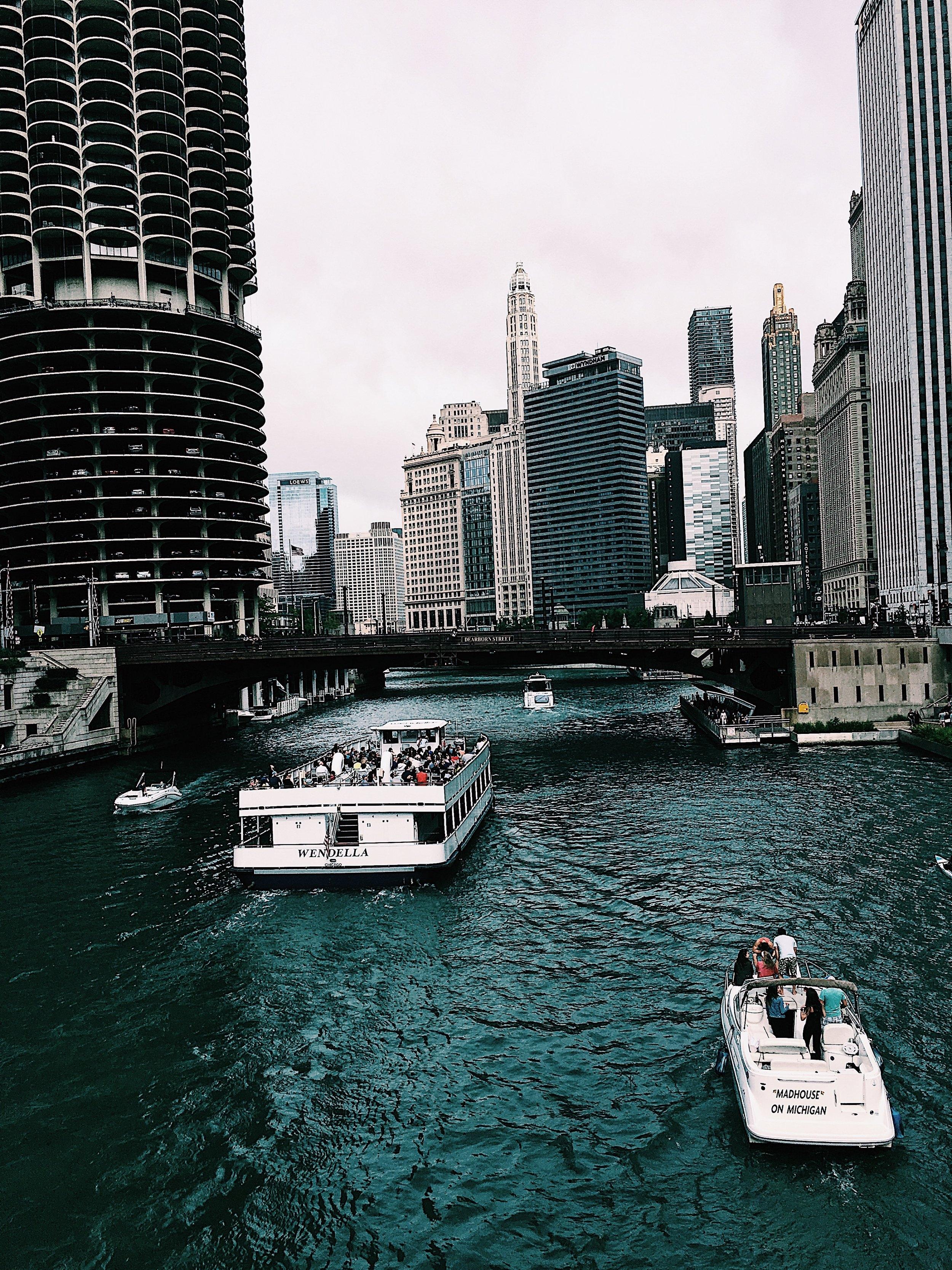 Chicago River | Chicago, IL |Riverwalk