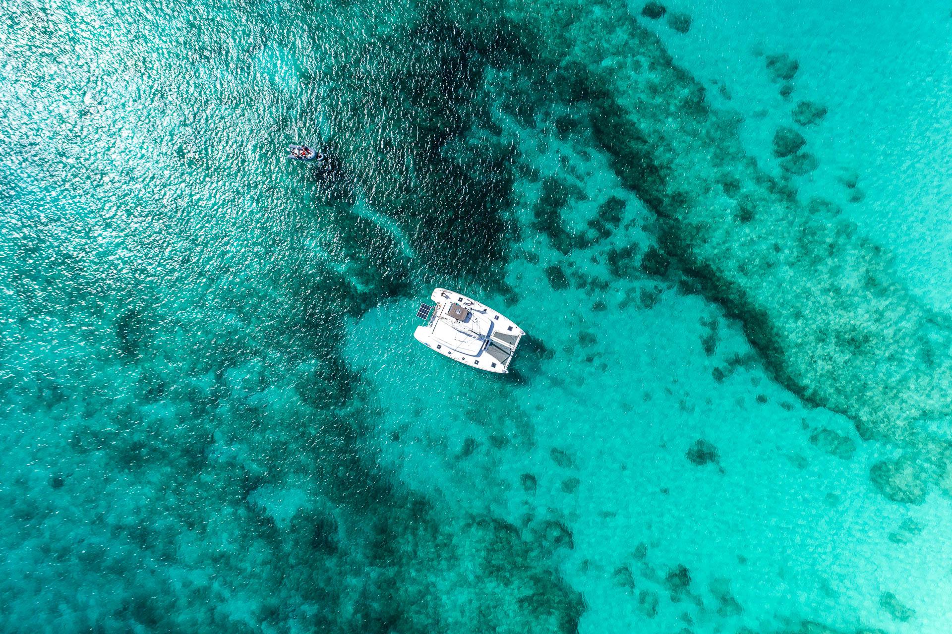 Photographie aérienne par drone aux antilles francaises